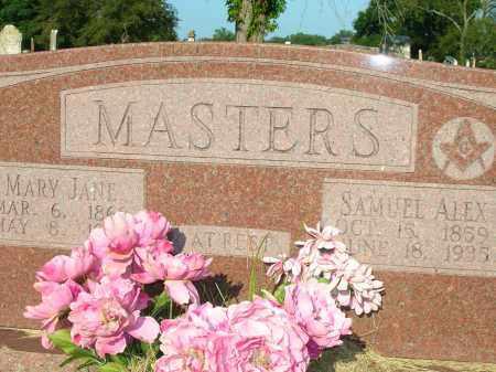 SMITH MASTERS, MARY JANE - Yell County, Arkansas | MARY JANE SMITH MASTERS - Arkansas Gravestone Photos