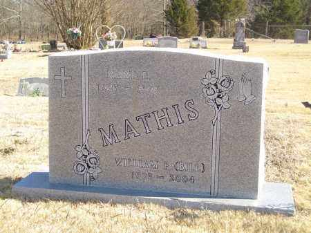 MATHIS, MARY ELIZABETH - Yell County, Arkansas | MARY ELIZABETH MATHIS - Arkansas Gravestone Photos