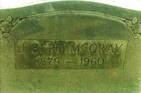 MCCRAY, J. BERT - Yell County, Arkansas | J. BERT MCCRAY - Arkansas Gravestone Photos