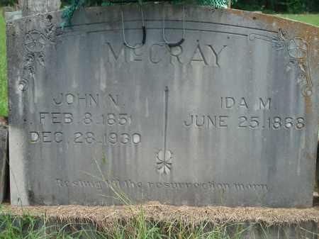 MCCRAY, IDA M - Yell County, Arkansas | IDA M MCCRAY - Arkansas Gravestone Photos