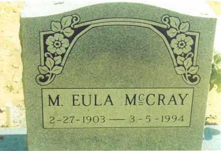 MCCRAY, M. EULA - Yell County, Arkansas | M. EULA MCCRAY - Arkansas Gravestone Photos