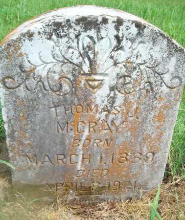 MCCRAY, THOMAS J - Yell County, Arkansas | THOMAS J MCCRAY - Arkansas Gravestone Photos