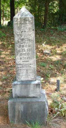 MCCURRY, S. E. - Yell County, Arkansas   S. E. MCCURRY - Arkansas Gravestone Photos