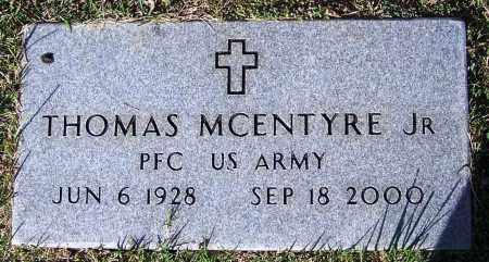 MCENTYRE, JR. (VETERAN), THOMAS - Yell County, Arkansas   THOMAS MCENTYRE, JR. (VETERAN) - Arkansas Gravestone Photos