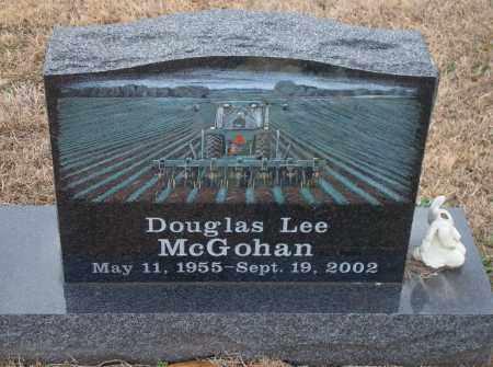MCGOHAN, DOUGLAS LEE - Yell County, Arkansas   DOUGLAS LEE MCGOHAN - Arkansas Gravestone Photos