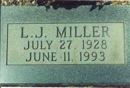 MILLER, L. J. - Yell County, Arkansas   L. J. MILLER - Arkansas Gravestone Photos