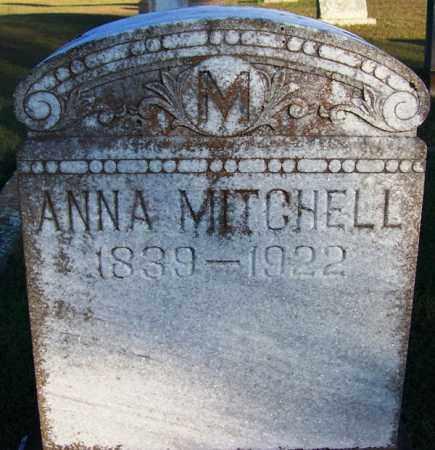 MITCHELL, ANNA - Yell County, Arkansas | ANNA MITCHELL - Arkansas Gravestone Photos