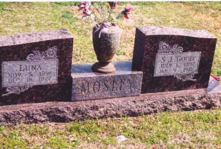 MOSELY, LUNA MAE - Yell County, Arkansas | LUNA MAE MOSELY - Arkansas Gravestone Photos