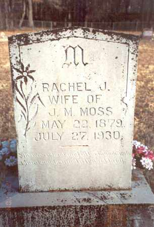 CORTER MOSS, RACHEL JANE - Yell County, Arkansas | RACHEL JANE CORTER MOSS - Arkansas Gravestone Photos