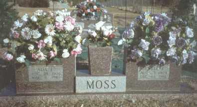 MOSS, ADA - Yell County, Arkansas | ADA MOSS - Arkansas Gravestone Photos