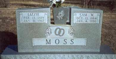 MOSS, LIZZIE - Yell County, Arkansas | LIZZIE MOSS - Arkansas Gravestone Photos