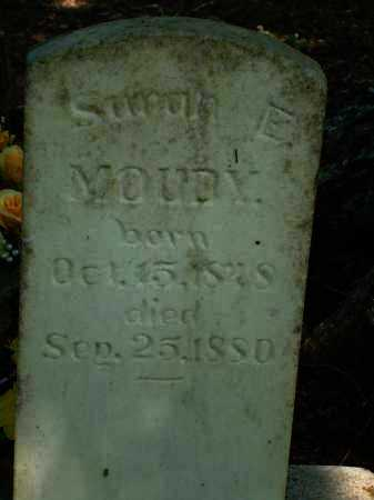 MOUDY, SARAH E. - Yell County, Arkansas | SARAH E. MOUDY - Arkansas Gravestone Photos