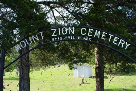 *MOUNT ZION CEMETERY SIGN,  - Yell County, Arkansas |  *MOUNT ZION CEMETERY SIGN - Arkansas Gravestone Photos