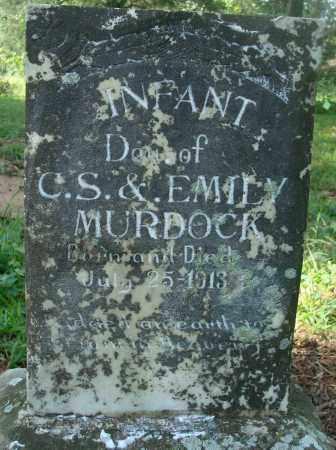 MURDOCK, INFANT DAUGHTER - Yell County, Arkansas | INFANT DAUGHTER MURDOCK - Arkansas Gravestone Photos