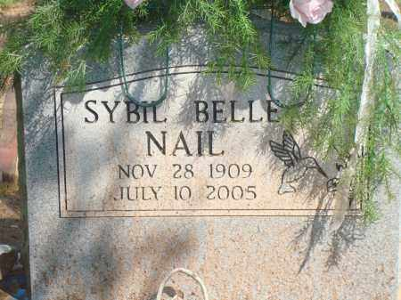 NAIL, SYBIL BELLE - Yell County, Arkansas | SYBIL BELLE NAIL - Arkansas Gravestone Photos