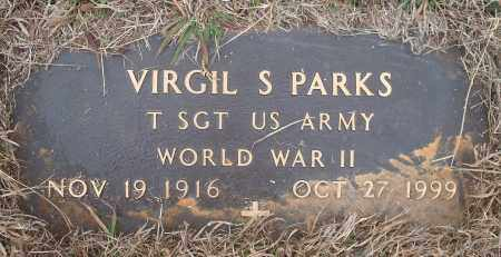 PARKS (VETERAN WWII), VIRGIL S. - Yell County, Arkansas   VIRGIL S. PARKS (VETERAN WWII) - Arkansas Gravestone Photos