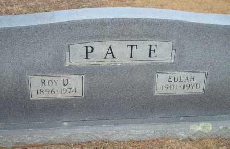 PATE, ROY D. - Yell County, Arkansas | ROY D. PATE - Arkansas Gravestone Photos