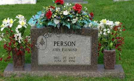 PERSON, JOHN RAYMOND - Yell County, Arkansas | JOHN RAYMOND PERSON - Arkansas Gravestone Photos