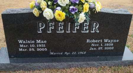 PFEIFER, WALSIE MAE - Yell County, Arkansas | WALSIE MAE PFEIFER - Arkansas Gravestone Photos