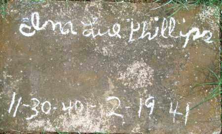 PHILLIPS, INA LUE - Yell County, Arkansas   INA LUE PHILLIPS - Arkansas Gravestone Photos