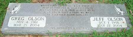OLSON, JEFF - Yell County, Arkansas   JEFF OLSON - Arkansas Gravestone Photos