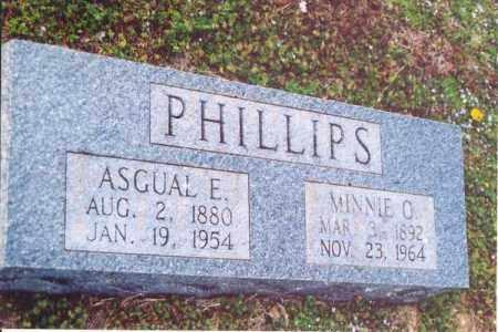 PHILLIPS, MINNIE O. - Yell County, Arkansas   MINNIE O. PHILLIPS - Arkansas Gravestone Photos