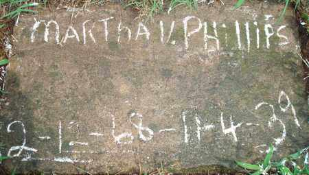 HANCOCK PHILLIPS, MARTHA VOLENTA - Yell County, Arkansas | MARTHA VOLENTA HANCOCK PHILLIPS - Arkansas Gravestone Photos