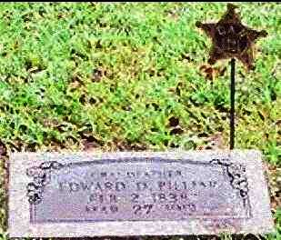 PILLIAR (VETERAN UNION), EDWARD D. - Yell County, Arkansas | EDWARD D. PILLIAR (VETERAN UNION) - Arkansas Gravestone Photos