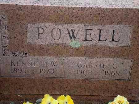 POWELL, KENNETH W. - Yell County, Arkansas | KENNETH W. POWELL - Arkansas Gravestone Photos