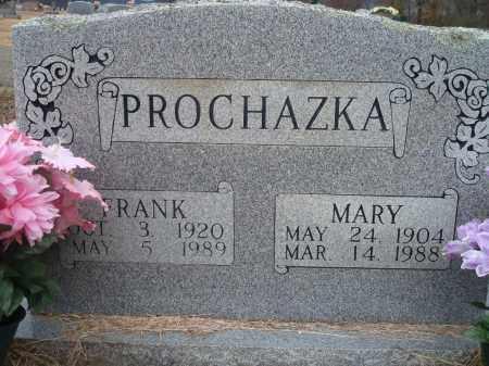 PROCHAZKA, MARY - Yell County, Arkansas | MARY PROCHAZKA - Arkansas Gravestone Photos