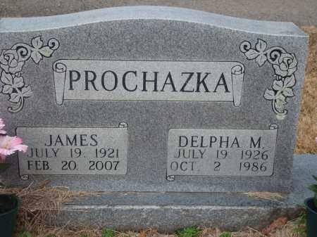 PROCHAZKA, DELPHA M. - Yell County, Arkansas | DELPHA M. PROCHAZKA - Arkansas Gravestone Photos