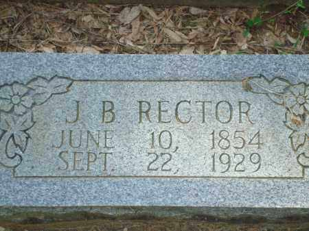 RECTOR, J.B. - Yell County, Arkansas | J.B. RECTOR - Arkansas Gravestone Photos