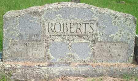 ROBERTS, FENNER M - Yell County, Arkansas | FENNER M ROBERTS - Arkansas Gravestone Photos