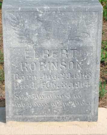 ROBINSON, ELBERT - Yell County, Arkansas | ELBERT ROBINSON - Arkansas Gravestone Photos