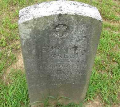 RUSSELL (VETERAN), EURY - Yell County, Arkansas   EURY RUSSELL (VETERAN) - Arkansas Gravestone Photos