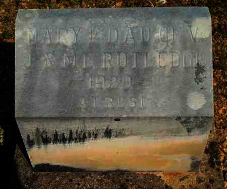 RUTLEDGE, MARY E - Yell County, Arkansas | MARY E RUTLEDGE - Arkansas Gravestone Photos