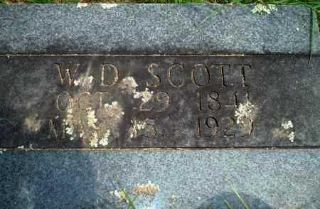 SCOTT, WD - Yell County, Arkansas   WD SCOTT - Arkansas Gravestone Photos