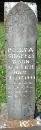 SHAFFER, POLLY A - Yell County, Arkansas   POLLY A SHAFFER - Arkansas Gravestone Photos