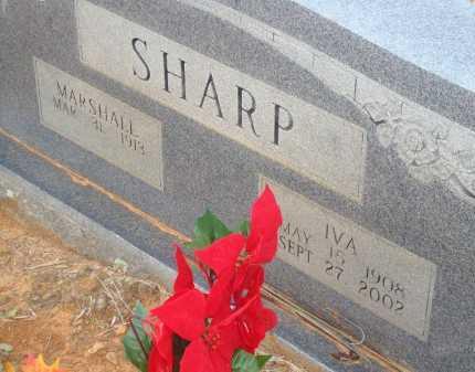 SHARP, IVA - Yell County, Arkansas | IVA SHARP - Arkansas Gravestone Photos