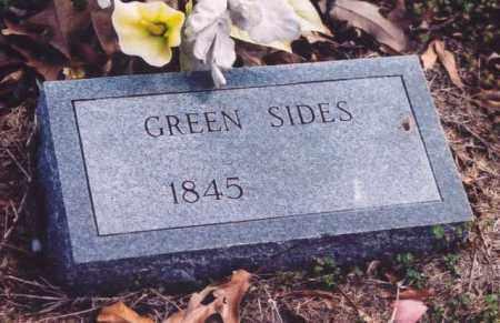 SIDES, GREEN - Yell County, Arkansas | GREEN SIDES - Arkansas Gravestone Photos