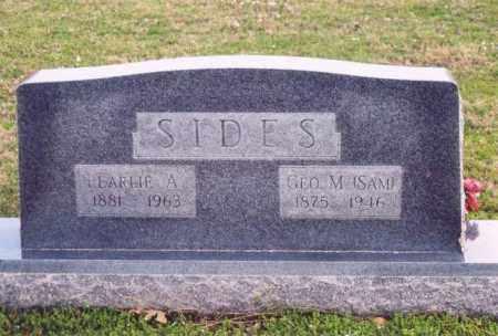SIDES, GEORGE M - Yell County, Arkansas | GEORGE M SIDES - Arkansas Gravestone Photos
