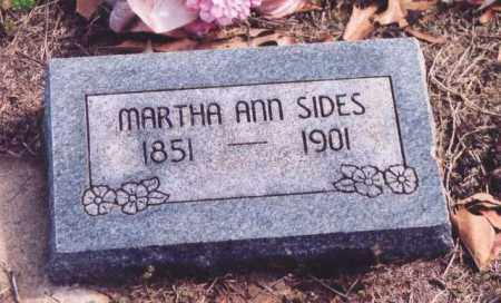 DOWELL SIDES, MARTHA ANN - Yell County, Arkansas | MARTHA ANN DOWELL SIDES - Arkansas Gravestone Photos