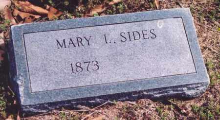 SIDES, MARY L. - Yell County, Arkansas | MARY L. SIDES - Arkansas Gravestone Photos