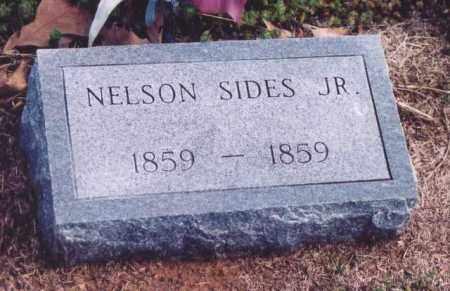 SIDES, NELSON, JR. - Yell County, Arkansas | NELSON, JR. SIDES - Arkansas Gravestone Photos