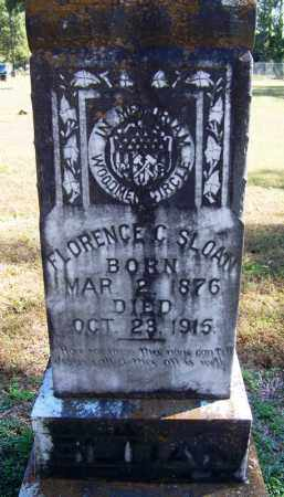 SLOAN, FLORENCE C - Yell County, Arkansas | FLORENCE C SLOAN - Arkansas Gravestone Photos