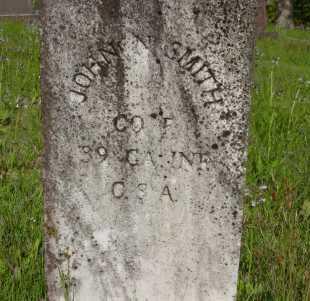SMITH (VETERAN CSA), JOHN N - Yell County, Arkansas | JOHN N SMITH (VETERAN CSA) - Arkansas Gravestone Photos