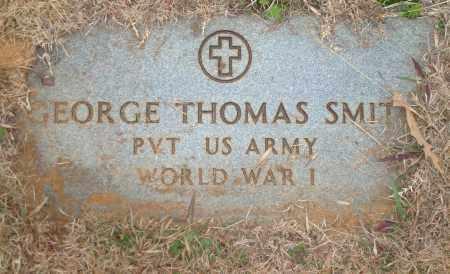 SMITH (VETERAN WWI), GEORGE THOMAS - Yell County, Arkansas   GEORGE THOMAS SMITH (VETERAN WWI) - Arkansas Gravestone Photos
