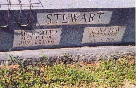 STEWART, CLARA MAY - Yell County, Arkansas | CLARA MAY STEWART - Arkansas Gravestone Photos