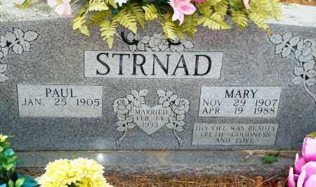 STRNAD, MARY - Yell County, Arkansas | MARY STRNAD - Arkansas Gravestone Photos