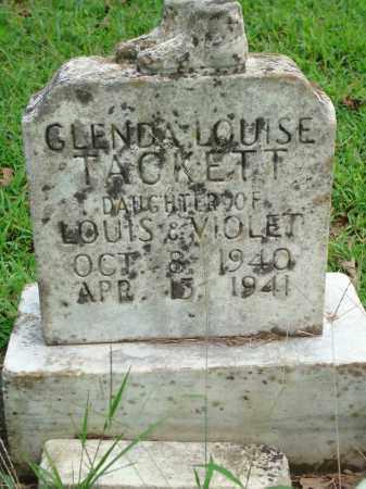 TACKETT, GLENDA LOUISE - Yell County, Arkansas | GLENDA LOUISE TACKETT - Arkansas Gravestone Photos